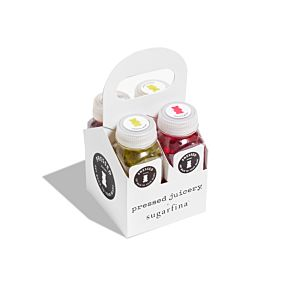 Pressed Juicery Bears 4-Shot Carrier