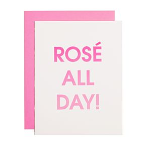 Rosé All Day Card
