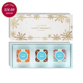 Season's Treatings 3 Piece Candy Bento Box