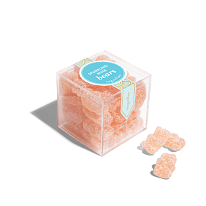 Sparkling Rosé Bears - Small Candy Cube