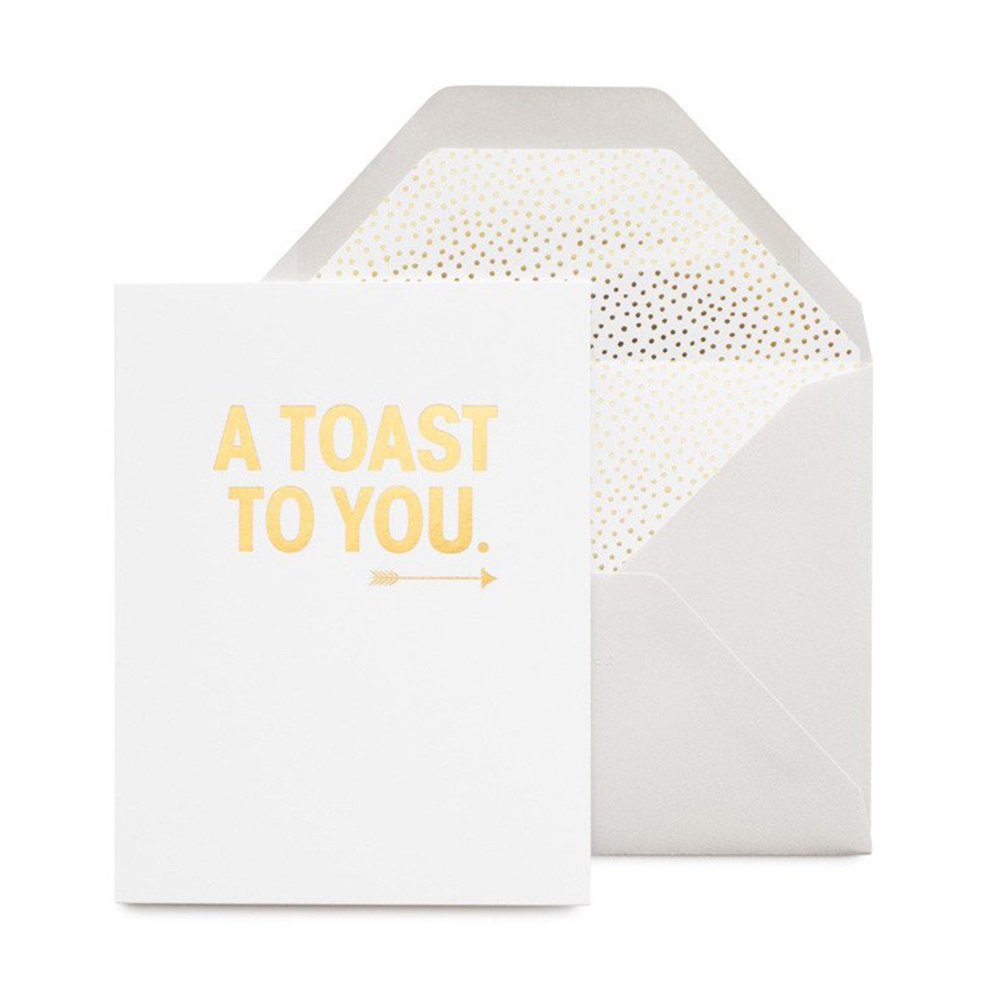 A Toast To You Card
