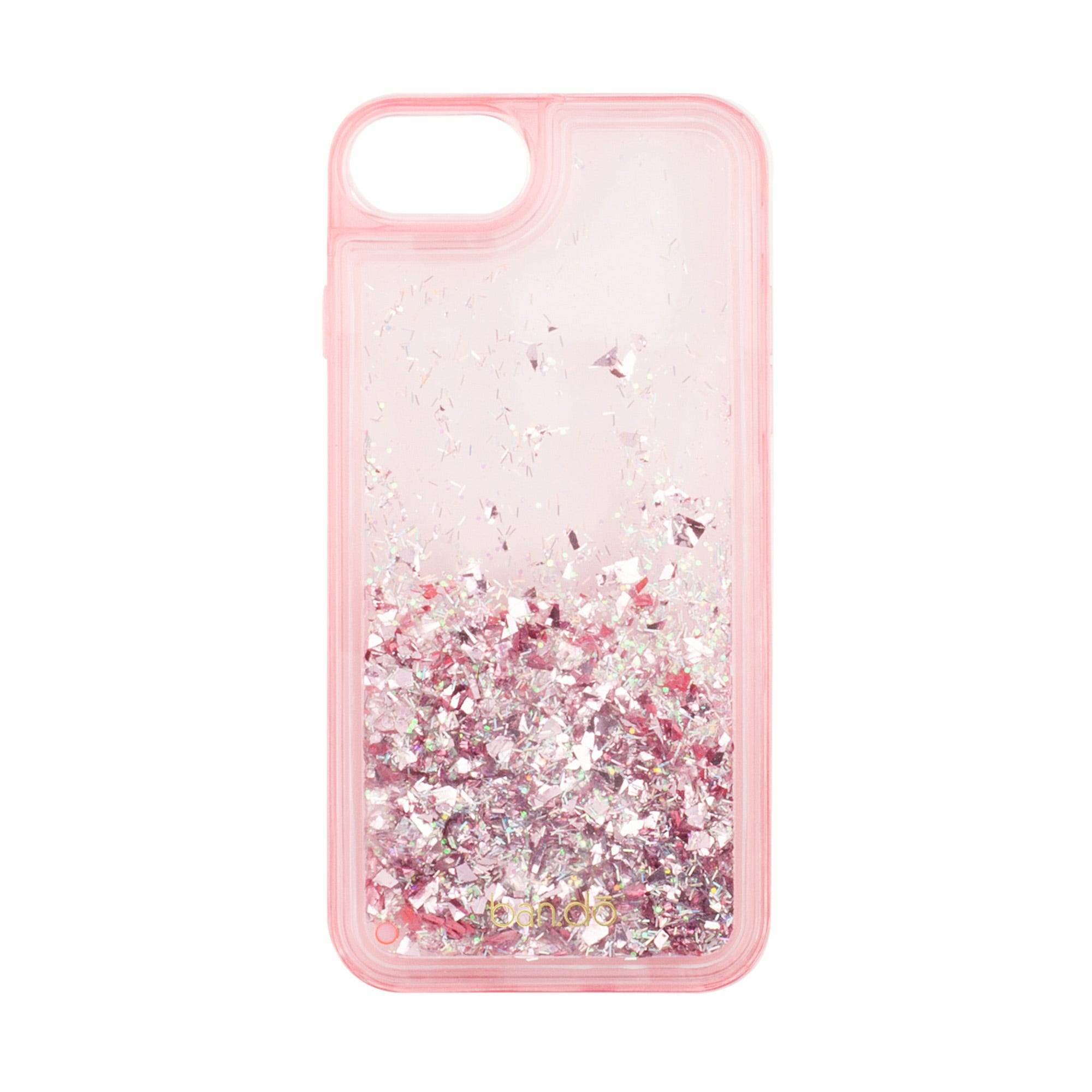 Pink Glitter Bomb iPhone 7 Case