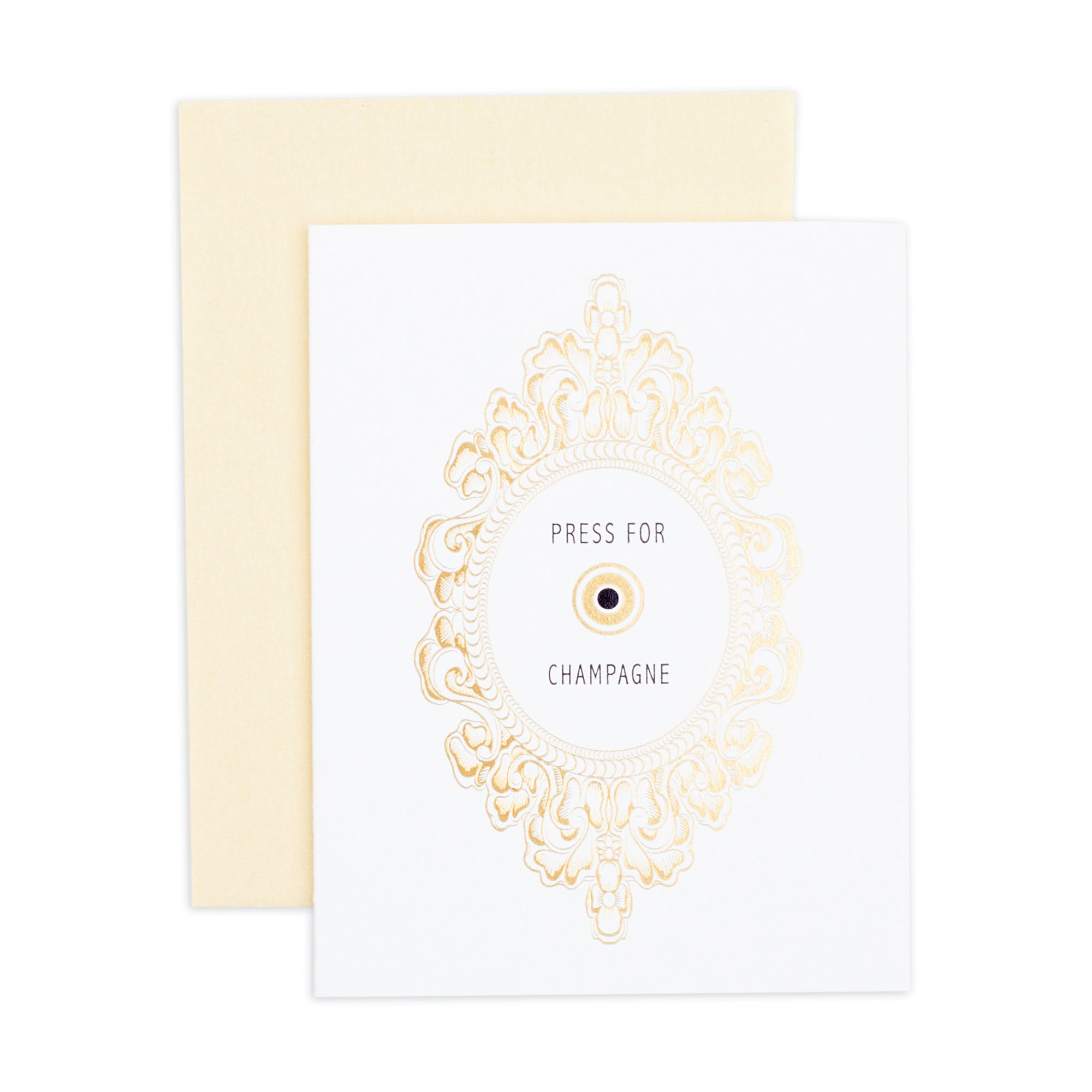 Press for Champagne Card