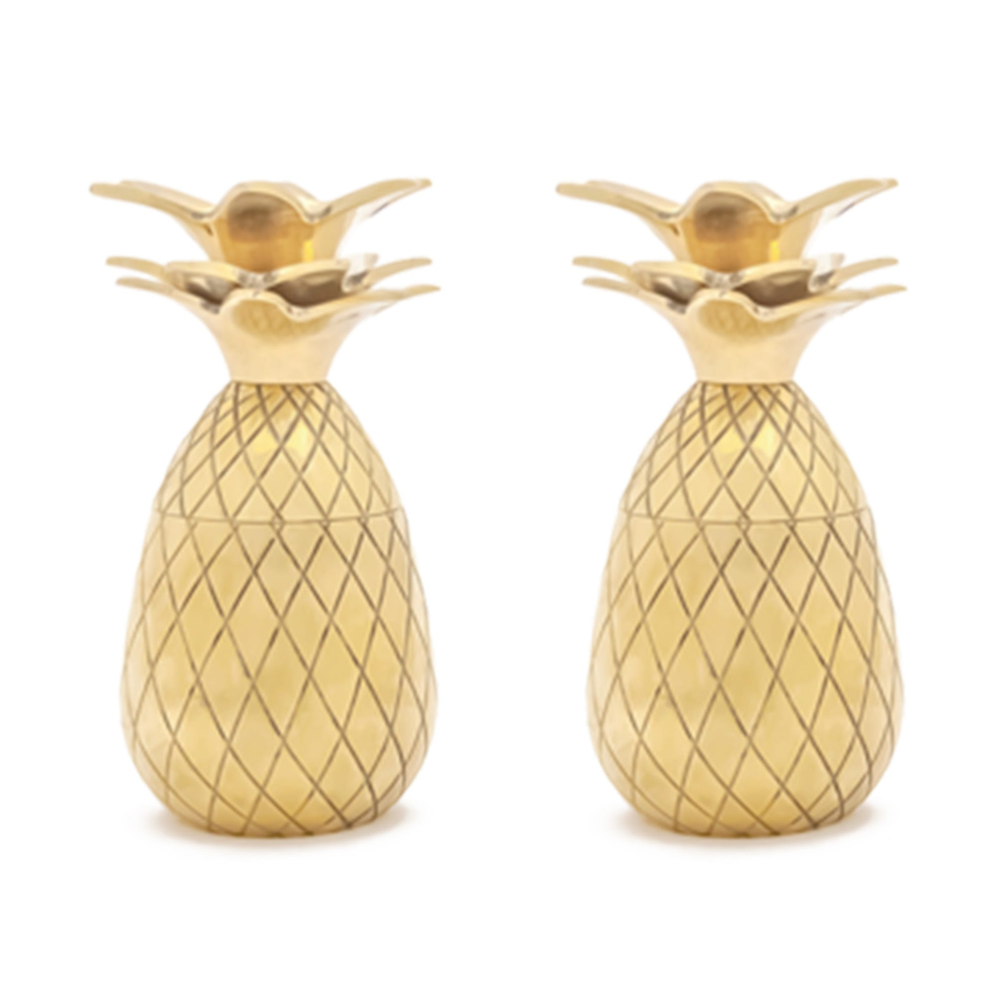 Pineapple Shot Glasses - Gold
