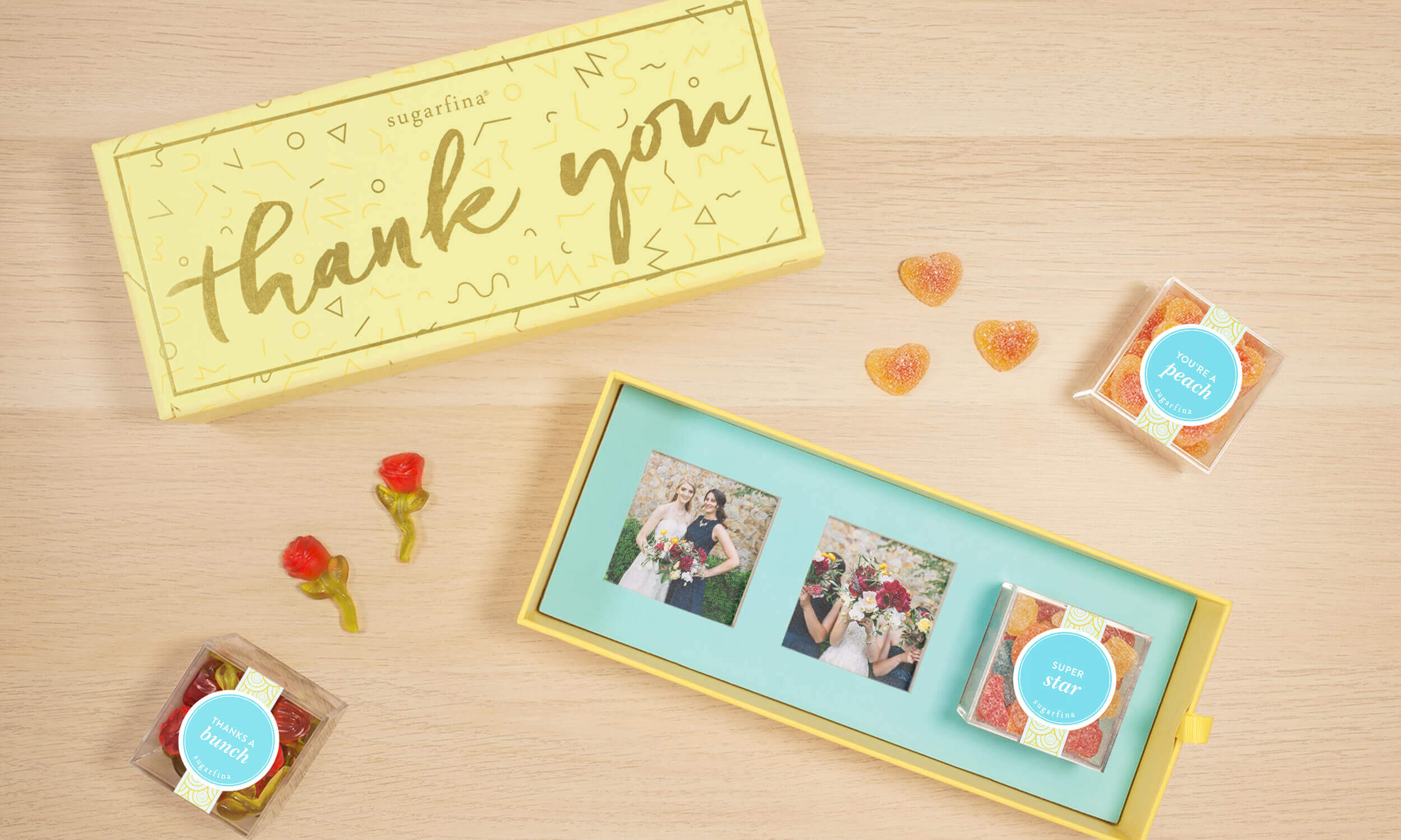 HOW TO TURN YOUR SUGARFINA CANDY BENTO BOX INTO THE PERFECT, PERSONALIZED THANK YOU GIFT