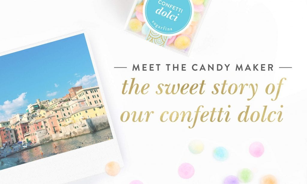 Candy in the Making: The Sweet Story of our Confetti Dolci