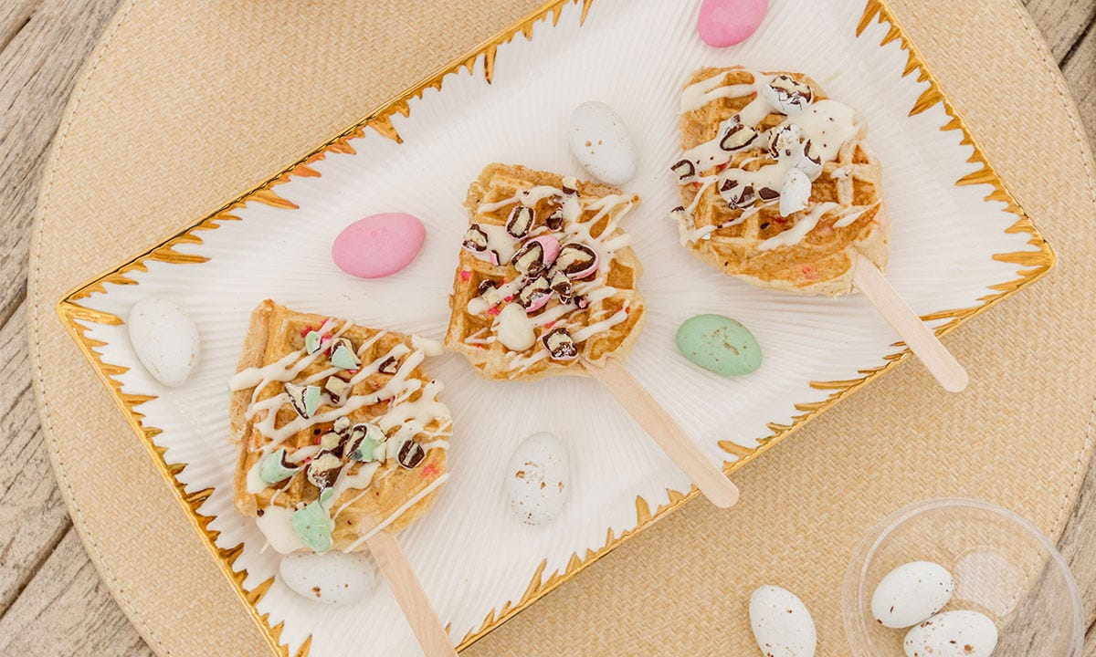 DIY Waffle Pops with Our New Gelato Candy Collection