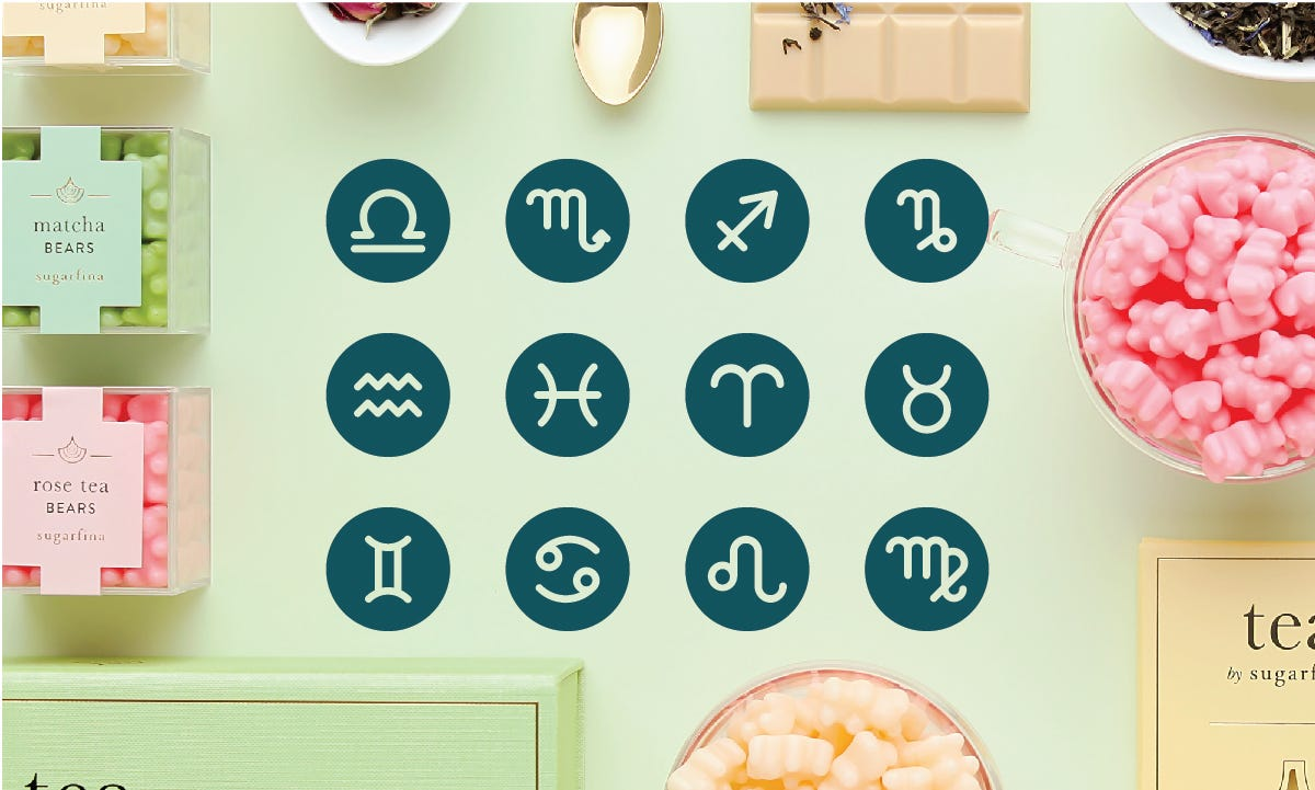 Sweet Compatibili-tea: Our September Horoscope Reveals Your Perfect Tea Candy Match!