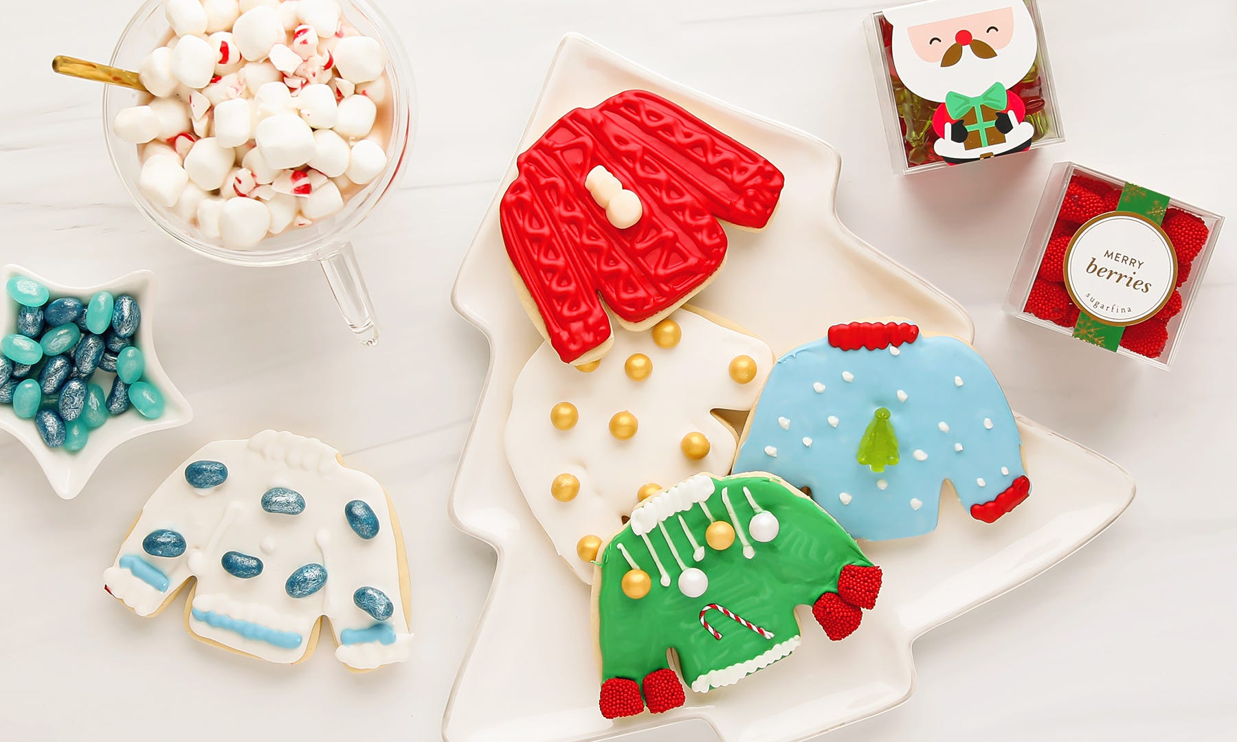 Tis the Season for These Adorable Ugly Christmas Sweater Cookies