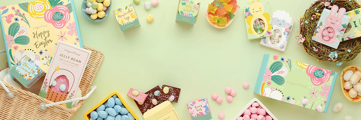 Make somebunny's Easter eggstra special with our collection of Easter candy and gifts.