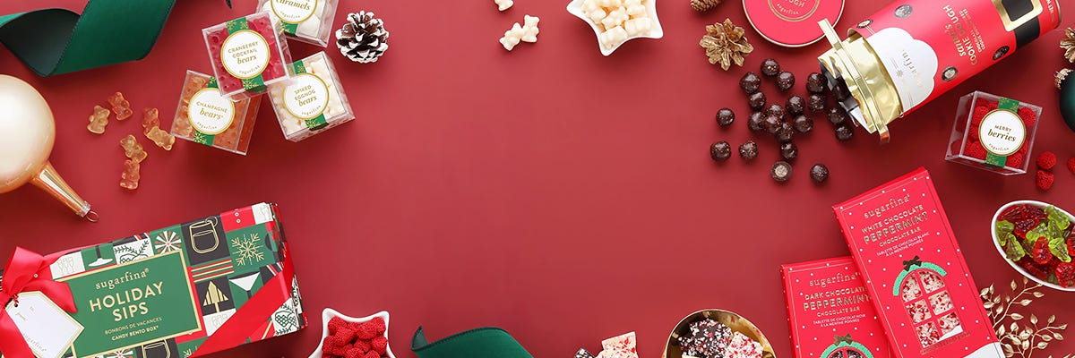 Shop the Sugarfina holiday collection and sleigh your holiday shopping list.
