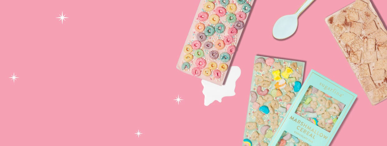 SHOP CANDY FOR BREAKFAST CHOCOLATE BARS