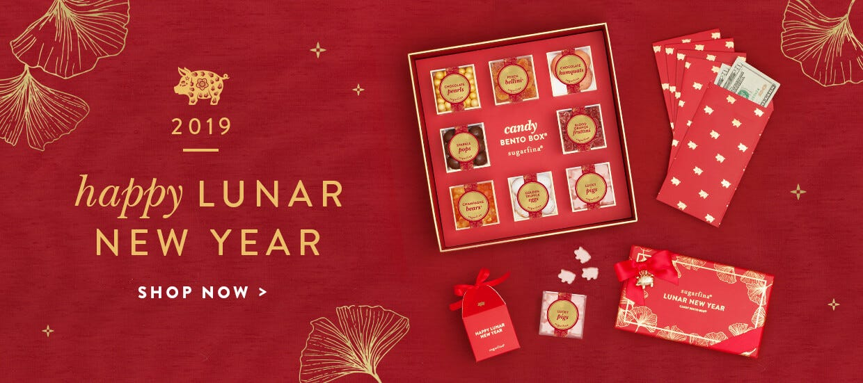 LUNAR NEW YEAR CANDIES 2019