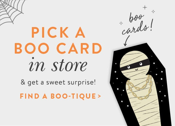 Boo Promotion, Get Multiple Prizes in Stores