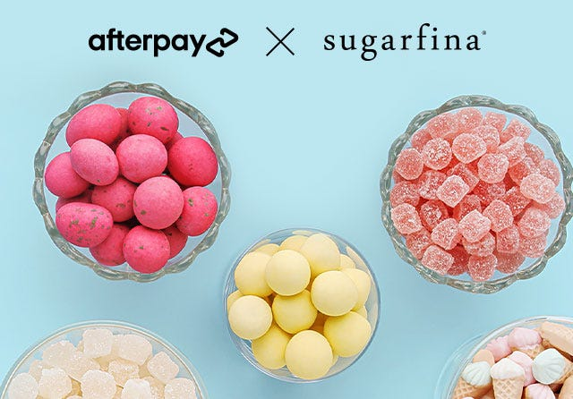 Shopping just got sweeter! With AfterPay, you can shop now and pay in installments. Always interest free.