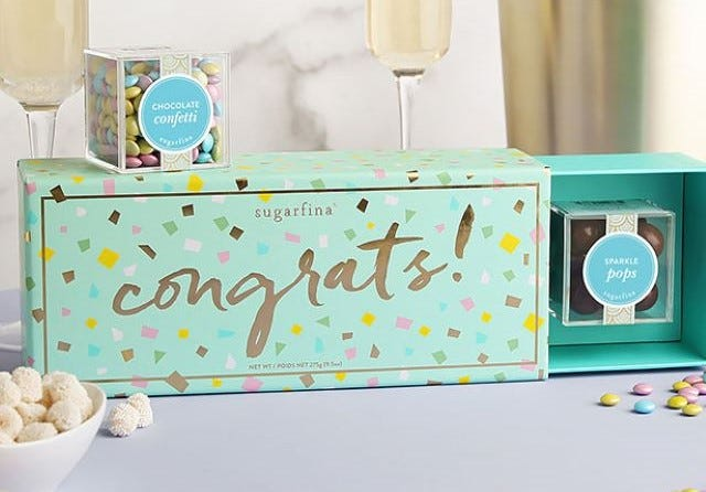 CHEERS TO THE CLASS OF 2021! Celebrate grads in a seriously sweet way with treats from Sugarfina.