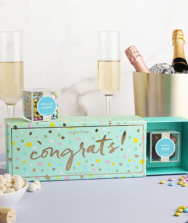 CHEERS TO THE CLASS OF 2020! Things might look a little different this year, but we can still celebrate our grads in a seriously sweet way.