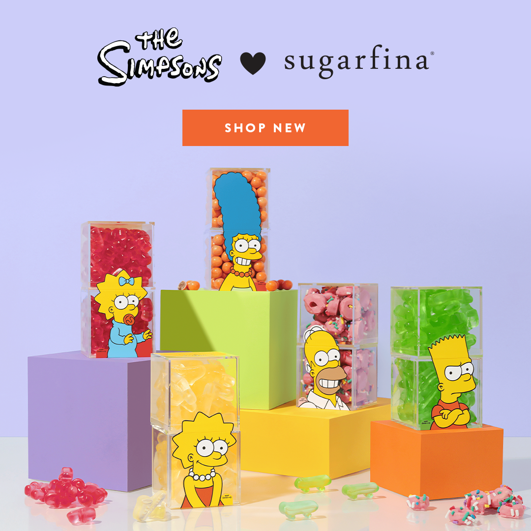 Fans will love our collection of candies inspired by The Simpsons
